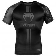 Rashguard Venum Logos Black/Black