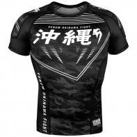 Rashguard Venum Okinawa 2.0 Schwarz / Weiß