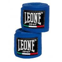 Boxbandagen Leone 3,5 m elastische blau